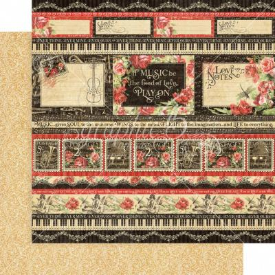 Graphic 45 Love Notes - Poetic Postage
